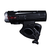 自行车前灯强光远射LED铝合金夜骑照明USB充电手电筒单配件可潜水