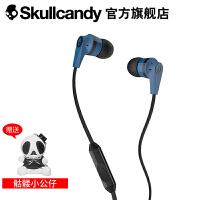 SKULLCANDY INKD 2.0 IN-EAR(音客)手机线控带麦入耳式耳机 蓝黑色