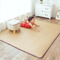 地毯卧室榻榻米宝宝爬行地垫藤编冰丝凉席毯日式夏季客厅