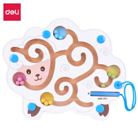 得力74312绵羊磁力迷宫亚克力板儿童智力3岁-6岁益智宝宝智力开发