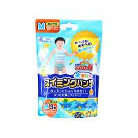 【网易考拉】【M码】GOO.N 大王 男宝宝用 游泳纸尿裤 防水透气 M3片
