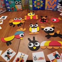 拼图儿童节礼物七巧板智力拼图儿童男孩女童蒙3-6周岁4-7氏早教具积木质玩具 早教益智玩具兼容乐高