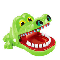 鳄鱼玩具鲨鱼咬手指海盗桶恶搞整蛊恐龙薯片蛇解减压创意抖音礼物