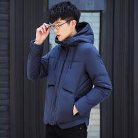 男士羽绒服修身款韩版短款加厚2017新款冬季轻薄外套男装青年潮流