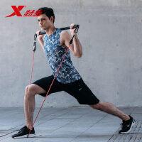 特步男背心新款舒适舒适专业运动跑步健身无袖紧身883229099263