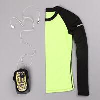 健身瑜伽服修身显瘦长袖T恤 运动跑步紧身