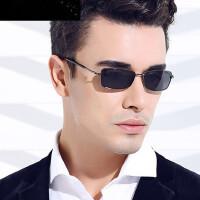 小框偏光太阳镜潮人男士小脸方形眼镜开车驾驶镜钓鱼墨镜