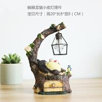 可爱龙猫摆件 少女心森系家居装饰小夜灯创意礼品男女生生日礼物 抖音