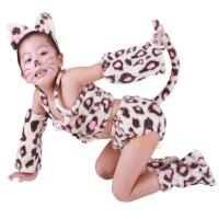 儿童演出服女跳舞蹈衣 花色动物造型服装套装男春秋季宝宝表演