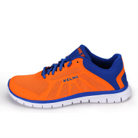 KELME卡尔美 K15S985 女款运动鞋 轻便防滑减震跑步鞋 耐磨网布透气慢跑鞋