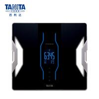 百利达(TANITA) 体脂仪 智能体脂秤 成人电子体重秤 精准脂肪称 日本品牌 RD-953 黑色
