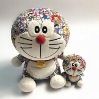 机器猫哆啦A梦叮当猫可爱村上隆潮流毛绒公仔玩偶娃娃玩具小挂件