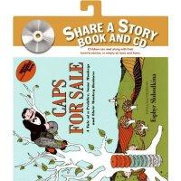 Caps for Sale Book and CD 卖帽子(享誉75年的美国经典童书,含CD) ISBN9780061