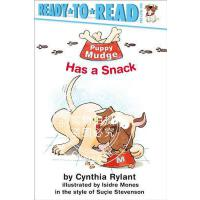 现货 Puppy Mudge Has a Snack 英文原版 小狗穆奇的零食 进口儿童读物