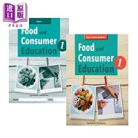 【中商原版】新加坡教材教辅 食品和消费者教育1教材+练习册套装2册 Food and Consumer Educatio