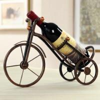 物有物语 红酒架 欧式创意铁艺金属三轮车红酒架摆件 家居客厅餐桌酒柜装饰品摆设