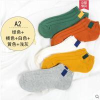 袜子女士短袜纯棉袜户外新品韩国浅口船袜可爱学院风低帮短筒袜