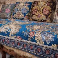 家纺2017秋冬季新款沙发套欧式皮沙发垫布艺沙发坐垫沙发套巾加厚