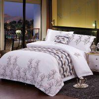 家纺酒店宾馆床上用品 四件套全棉印花套件