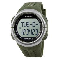 户外运动计步器手环走路跑步记步腕表心率电子表多功能防水心跳手表