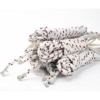 中考跳绳教委体委认定儿童小学生考试健身比赛无柄编织布棉绳