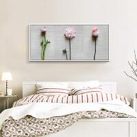 沙发背景墙客厅装饰画现代简约壁画墙画挂画小清新卧室三联画