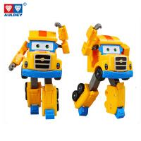 大号变形汽车机器人儿童玩具飞侠第三季奥迪双钻卡尔叔叔