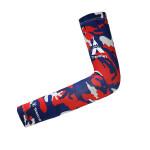 探路者TOREAD户外秋季户外登山运动护具迷彩护臂(2只装)TELE90824