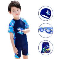 儿童游泳衣男童分体宝宝中大童小孩婴幼儿学生游泳裤泳装套装