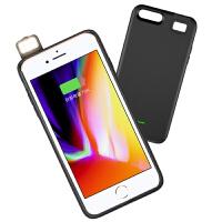 苹果7背夹式充电宝iphone6补光灯7plus抖音神器8P手机壳便携冲sp