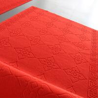 红地毯可裁剪楼梯婚礼布置大门口地垫门垫进门红地毯厨房礼物家用走廊中秋节结婚用的过道楼梯台阶防滑垫礼品 大红色 红红火火