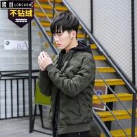 20冬季新款男士羽绒服韩版轻薄修身短款青年学生帅气冬装外套潮