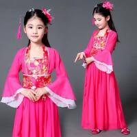 女童汉服古装儿童古装仙女服女公主裙汉服小孩古典舞六一演出服装
