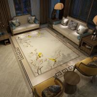现代简约客厅地毯 新中式沙发茶几垫卧室床边长方形房间家用定制