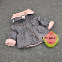 童装秋冬宝宝棉衣外套修身婴儿棉袄女童薄棉衣收腰0-2岁
