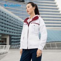 G Columbia/哥伦比亚户外2019春夏新品女款防水多功能冲锋衣P2878 P2878100 X