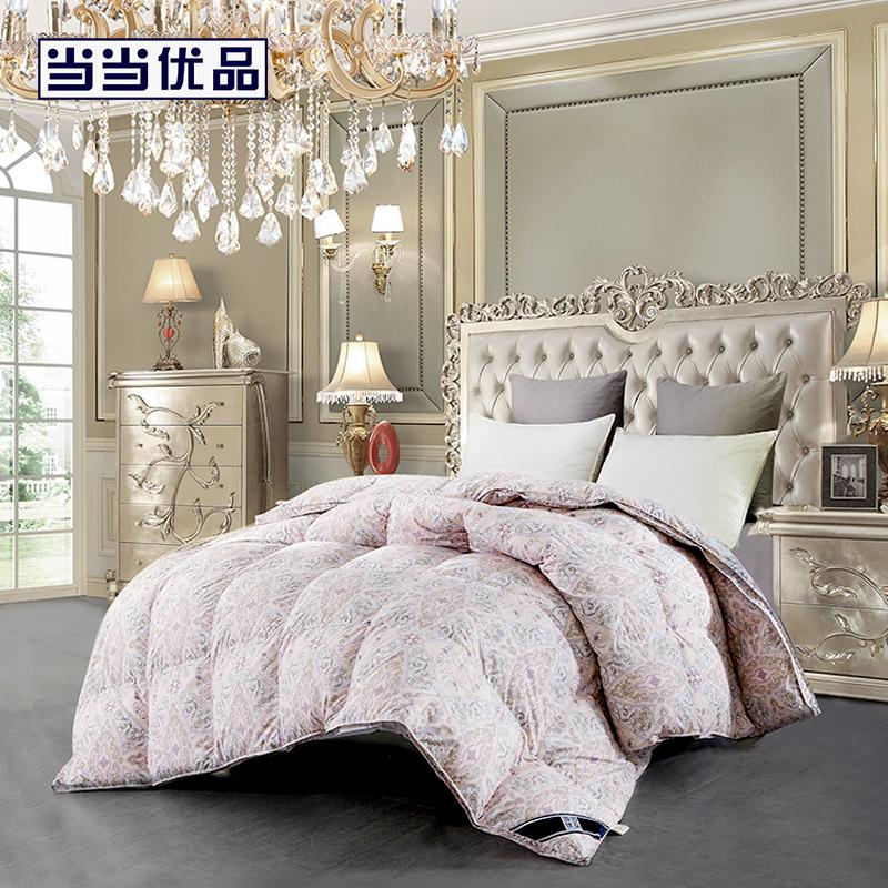 当当优品95%白鹅绒冬被羽绒被芯 浪漫法兰西 双人被子200*230cm