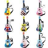 儿童吉他玩具六弦可弹奏仿真木制小吉他初学音乐启蒙儿童乐器21寸