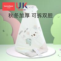 婴儿抱被秋冬季加厚纯棉新生儿产房初生宝宝鼠年春秋包裹包被两用