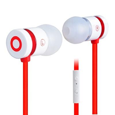 浦记(PLEXTONE) X38M手机通用耳机入耳式魔音面条线耳机重低音耳塞  标配 null