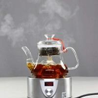 全玻璃蒸茶壶电陶炉加热煮黑茶蒸汽泡普洱茶养生茶具煮茶器