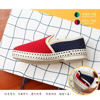 新款儿童软底舒适拼色帆布鞋复刻潮鞋