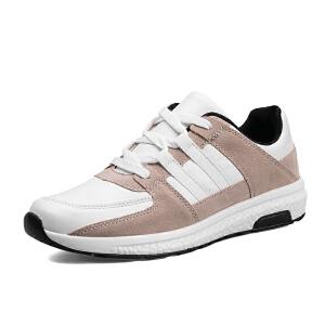 冬季小白鞋男士运动鞋韩版百搭休闲增高鞋学生白色板鞋社会鞋子