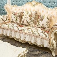 欧式沙发垫防滑新款布艺四季通用123组合三件套客厅定做