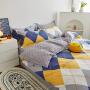 伊迪梦家纺 全棉斜纹印花学生床单人床单品 纯棉两三件套床上用品简约时尚卡通公主系列HCX01