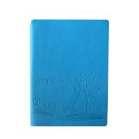 SCM至尚・创美 V32K061 商务笔记本A5记事本 湖蓝色 1本装 学生日记本厚本子 当当自营