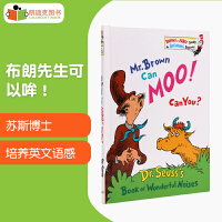 【99选5】美国进口 Dr. Seuss 苏斯博士代表作 Mr. Brown Can Moo! Can You? 【精装】#
