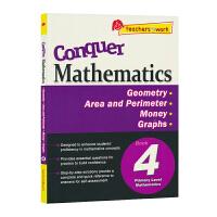 【现货】SAP Conquer Mathematics 4 Geometry Area and Perimeter M