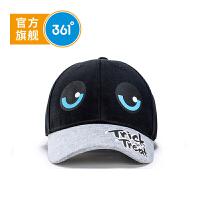 【新春到手价:35.6】【线下同款】361度童帽 儿童鸭舌帽 小童 冬季新品K11844205