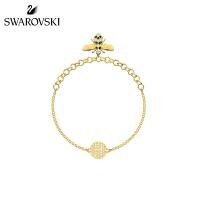 施华洛世奇 SWAROVSKI REMIX 可爱蜜蜂手链 女友礼物 17.5cm 5380077